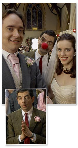 Mr Bean Weds Matthew Macfadyen (Red Nose Day 2007)