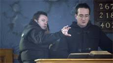 Matthew Macfadyen and Brian Kirk Rehearse a Middletown Scene