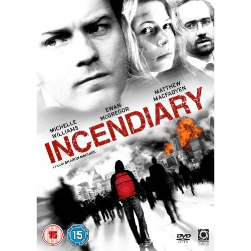 Artwork for Incendiary DVD