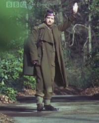 Matthew in Uniform for Enid