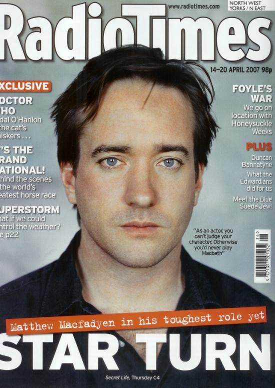 Secret Life and Radio Times (Apr 2007)